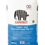 capatect klebe und spachtelmasse 190 fein 25kg 150x150 - BAUFuzzi - online Baustoffhandel -