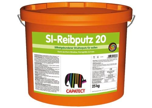 Capatect Silikat Reibputz, Fassadenputz, Baufuzzi, Baustoffhandel, Baustoffe, Onlineshop, Baustoffshop, Heimwerker, DIY