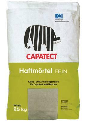 capatect haftmoertel fein - Haftmörtel Fein - klebe-spachtelmasse, fassade, capatect, vollwaermeschutz-wdvs-2, klebe-spachtelmasse-2