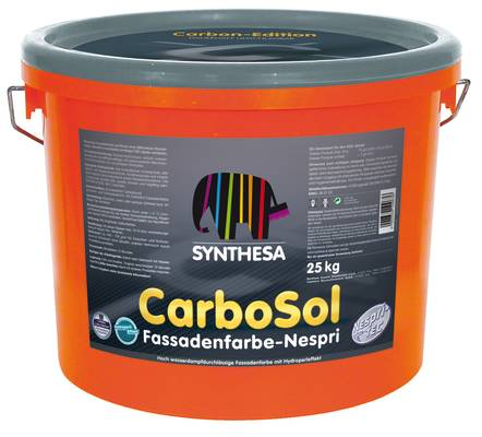 carbosol nespri 0 - CarboSol Fassadenfarbe Nespri - marken, farbelacke, fassade, capatect, farbenlacke-2