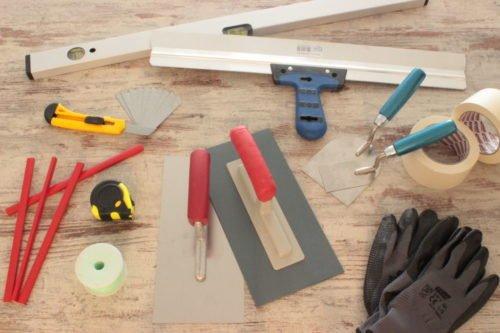 Werkzeugpackage für den Heimwerker
