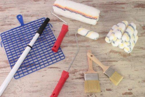 Werkzeugpackage für den Maler