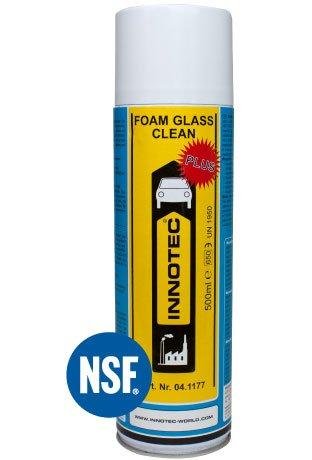 Innotec Foam Glass Clean Plus – Lebensmitteltauglicher Glasreiniger