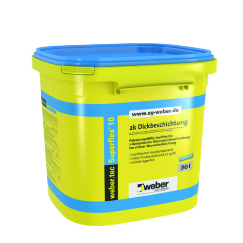 Weber.Tec Superflex 10 – Bitumenbeschichtung Baufuzzi Onlinehandel