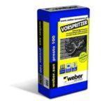 Weber.san presto 100 – Vorspritzer: Salzbeständiger Vorspritzer zur Verwendung im weber.san presto und weber.san plus Sanierputzsystem