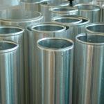 Alu - Blechrohr, Technische Isolierung, Rohrleitungsisolierung, Blechmantel