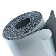 Wärmeisolierung & Kälteisolierung für Rohrleitungen und Kanäle - Kaiflex endlos Platte selbstkleben, Material: Vinyl Kautschuk
