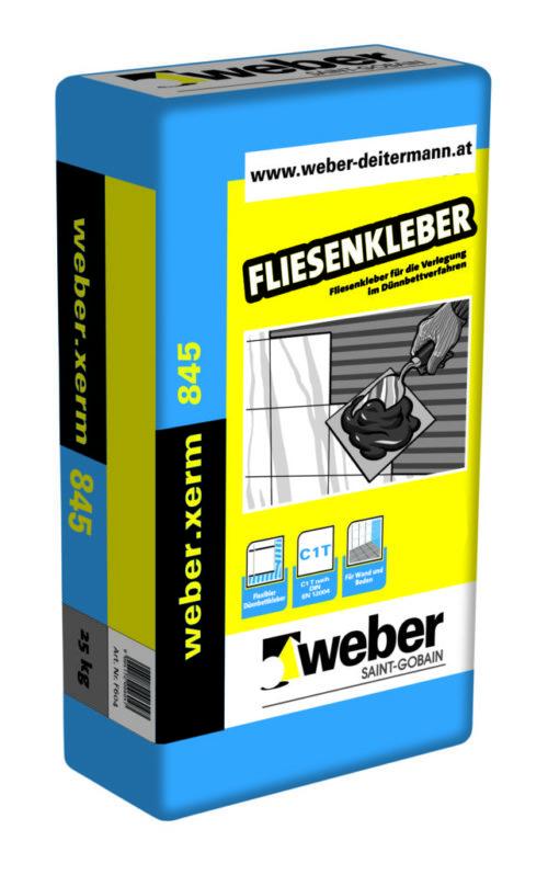 Weber.xerm 854 – Fliesenkleber Baufuzzi Baustoffhandel