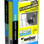 Weber.xerm 850 – Fliesenkleber Baufuzzi online Baustoffhandel Baustoffshop