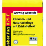 WEBER.TEC 875 F – FUGENMÖRTEL Baufuzzi Baustoffhandel