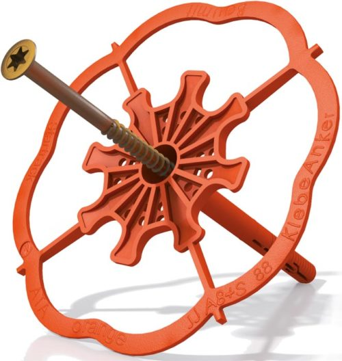 Baumit Klebeanker orange, Baufuzzi Baustoffe zu fairen Preisen, Fassadendämmung, Isolierung, Capatect, WDVS, VWS, Dämmstoffe