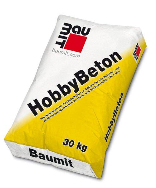 Baumit HobbyBeton, Baufuzzi der Onlineshop für Baustoffe, Beton, Mörtel, Ziegel, Estrich, Dämmstoffe, Fassadenputz
