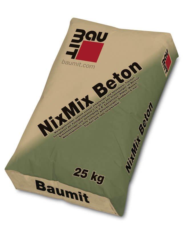 baumit nixmix beton auf dem nr1 online baumarkt. Black Bedroom Furniture Sets. Home Design Ideas