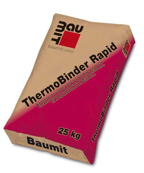 Baumit ThermoBindern Rapid, Estrich E 225, Baufuzzi, Baustoffhandel, Baustoffshop, Baustoffe, Baumaterial, Dämmstoffe, Isolierung, Ziegel, Estrich, Beton, Fassadenputz